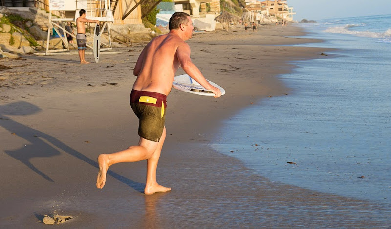 Heading Out To Water in Kelp Color Theory Trunks