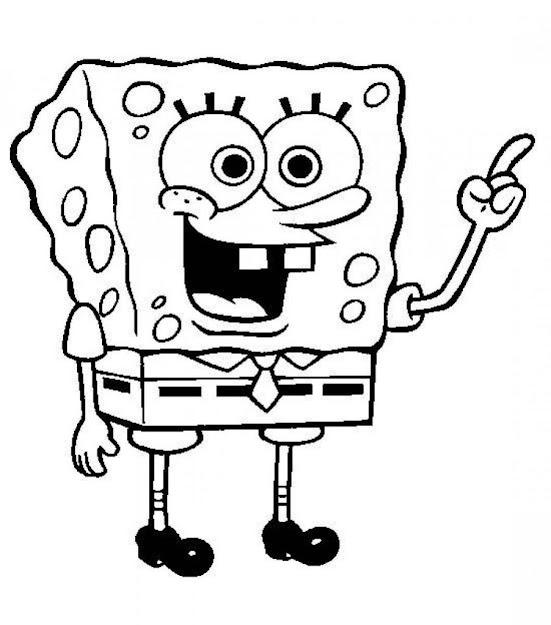 Printable Spongebob Squarepants Coloring Pages Within Picture Of Spongebob  Coloring Page