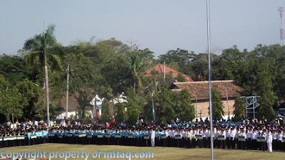 Barisan Santri Khutbatul Arsy Pondok Gontor 2011