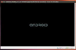 AndroVM avviato su Ubuntu 13.04 Raring