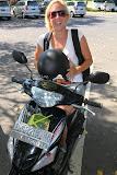 Isabell on her motorbike (© 2010 Bernd Neeser)