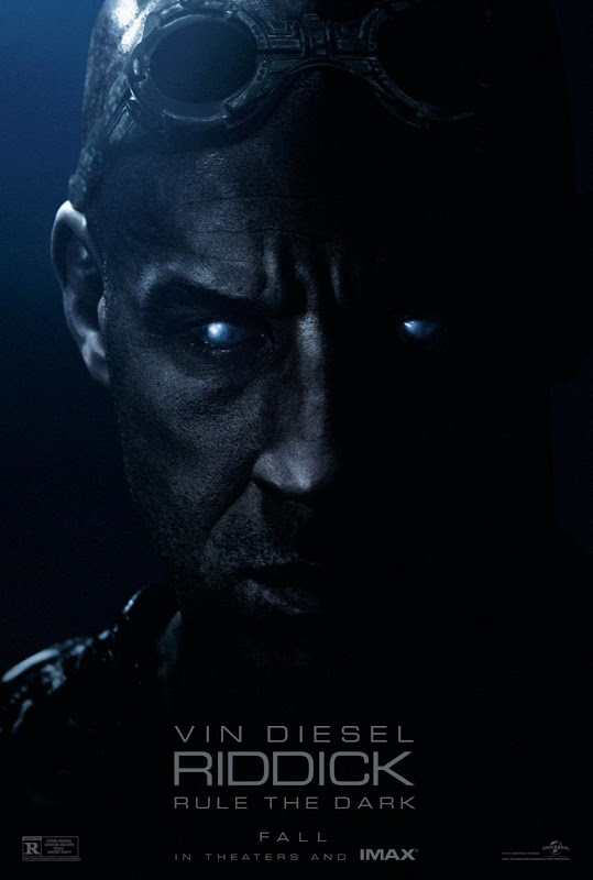 Riddick Rule The Dark Poster