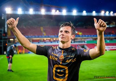 Dante Vanzeir weet dat de spelers van KV Mechelen bezig zijn met mogelijk vertrek Wouter Vrancken