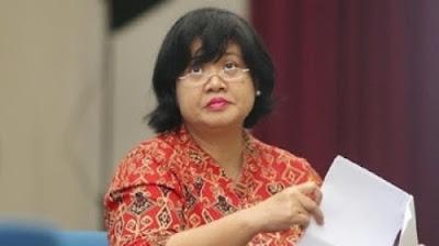 Foto Komisioner Kompolnas Poengky Indarti. Kecepatan Polri Ungkap Pelaku Parodi Indonesia Raya Membanggakan.