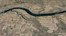 The 'Nook' at the John Day River, Oregon (GoogleEarth views)