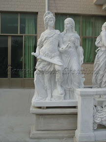 Figure, Interior, Male, Marble, Natural Stone, Pedestal, Statues