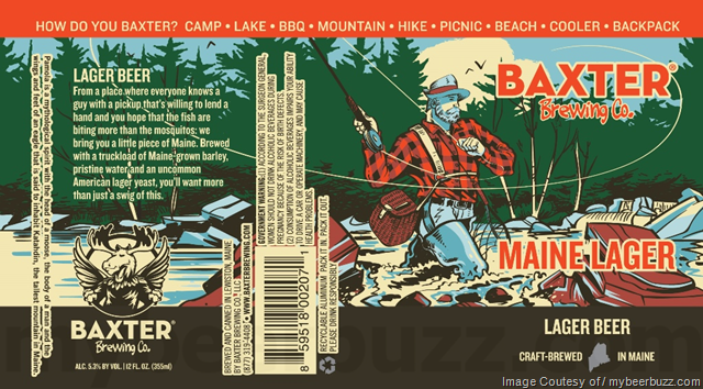 Baxter Brewing Maine Lager