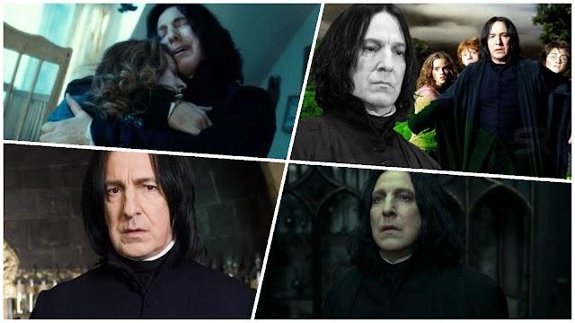 Porque Snape não era um vilão em Harry Potter?