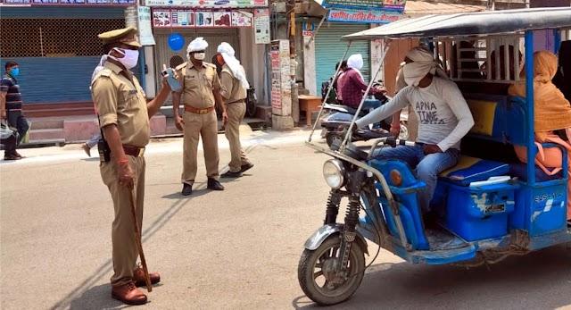 एसपी के निर्देश पर पुलिसकर्मियों का अभियान जारी