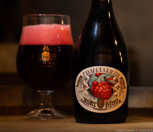 Jester King 2018 Atrial Rubicite (Blend No. 8) Coming 7/6
