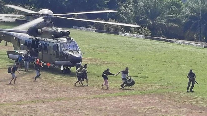 Biadab, Ter*ris OPM Tembaki Pasukan TNI Pengangkut Jenazah Suster