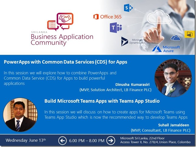 Sri Lanka Business Application Community - June 2018 Meetup - Suhail Jamaldeen - Suhail Cloud