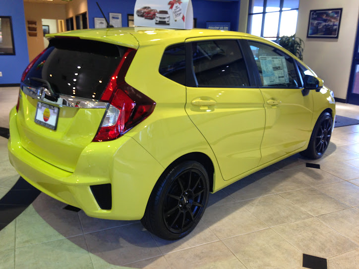 2015 Honda Fit Gk5 At A Local Dealer With Momo Wheels