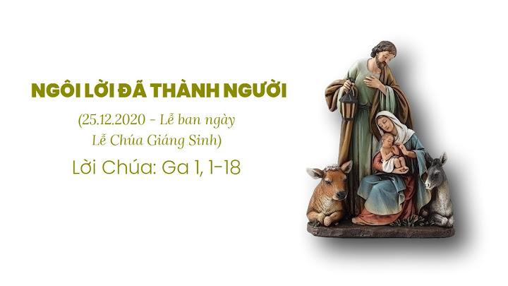 NGÔI LỜI ĐÃ THÀNH NGƯỜI (25.12.2020 - Lễ ban ngày - Lễ Chúa Giáng Sinh)
