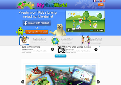 Myfirstworld.com free online website builders