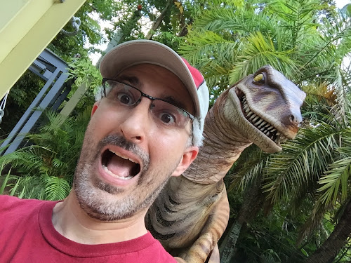 New Raptor Encounter Islands of Adventure Jurassic Park