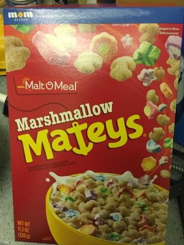 Foodstuff Finds Malt O Meal Marshmallow Mateys Asda By