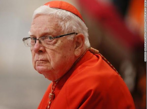 Sad !!! Former cardinal, Bernard Law who resigned in disgrace during the church sex abuse scandal has died