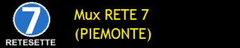 MUX RETE 7 PIEMONTE