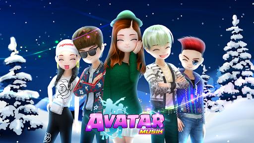 AVATAR MUSIK INDONESIA - Social Dancing Game 1.0.1 screenshots 1