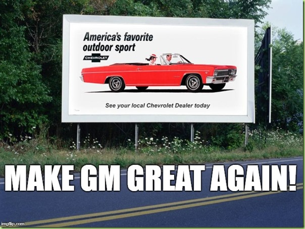 make gm great again