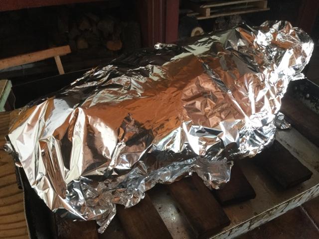 Pata de Cerdo al Horno de Barro para las Fiestas FotoReceta