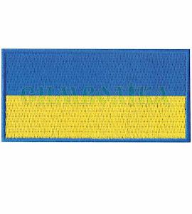 Прапорець синьо-жовтий 100х50 мм