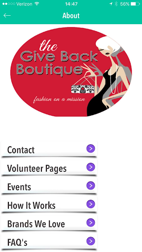 Give Back Boutique screenshot 3