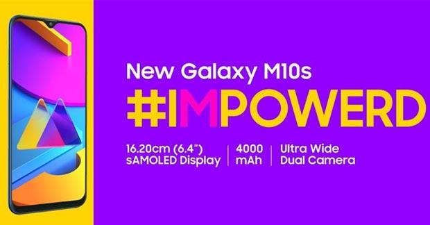 Samsung Galaxy M10s Spesifikasi