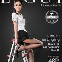 LiGui 2015.04.15 网络丽人 Model 凌凌 [48+1P] cover.jpg
