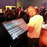 DJ setup on Demo for Build 2013.