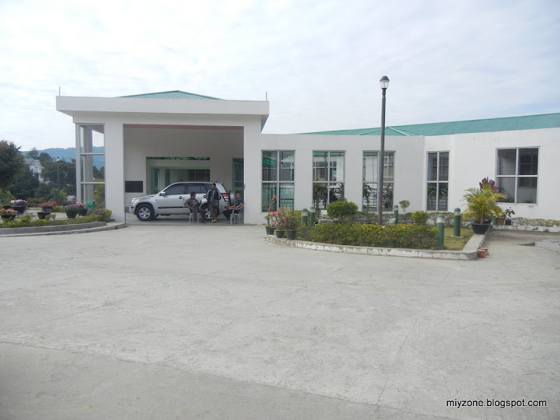 Miyzone Mizoram University Campus Photo Tour