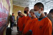 Dalam Sepekan, Polres Cianjur Berhasil Menangkap 6 Bandar dan Pengedar Sabu, Ganja dan Obat-obatan