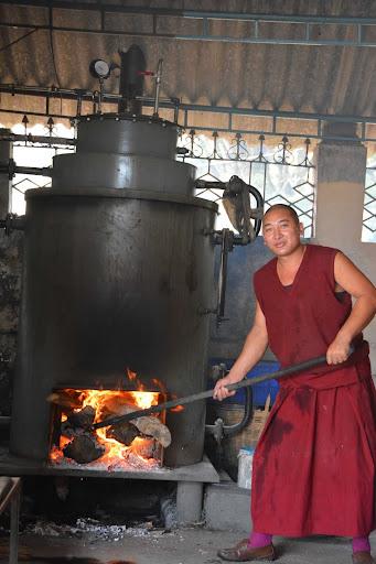 New wood burning steam boiler