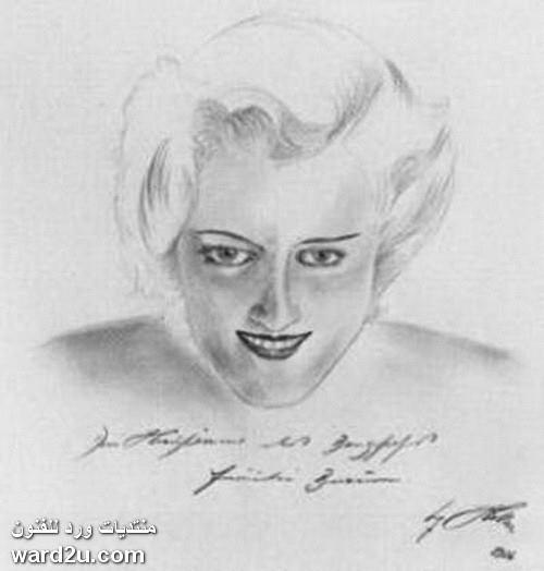 لوحات الزعيم الفنان ادولف هتلر Adolf Hitler