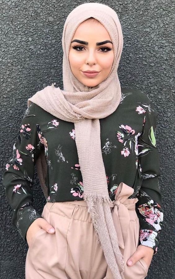 Just an amazing Great Hijab Fashion 2018 Style - Fashionre
