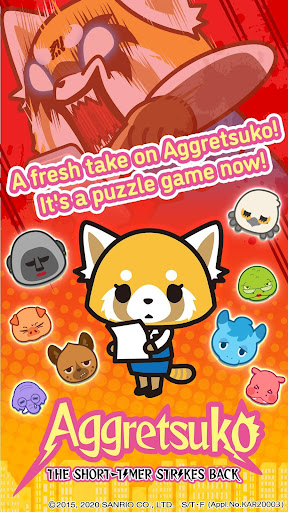 Aggretsuko : the short timer strikes back apkdomains screenshots 1