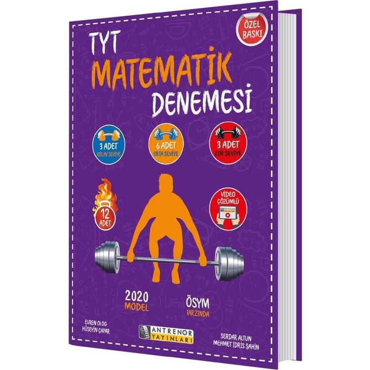 Antrenör Yayınları - TYT Matematik - 12'li Deneme