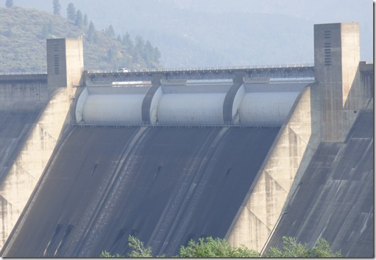 Shasta Dam, Shasta Lake California