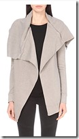 All Saints Dahlia cotton jersey cardigan with zips