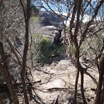 View down to rocks (102460)
