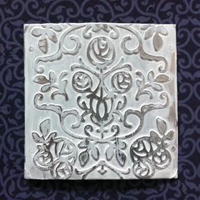 faux tin tile
