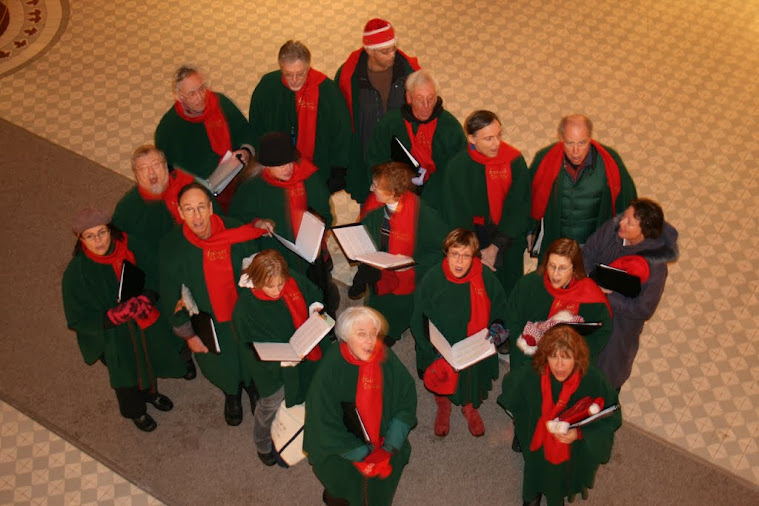 Carolling at Ottawa U. 2007