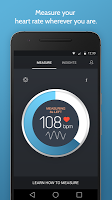 screenshot of Instant Heart Rate: HR Monitor & Pulse Checker