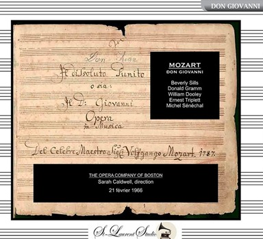 CD REVIEW: Wolfgang Amadeus Mozart - DON GIOVANNI (St-Laurent Studio Opera Vol. 7 YSL T-270)