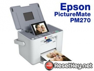 Reset Epson PM270 printer Waste Ink Pads Counter