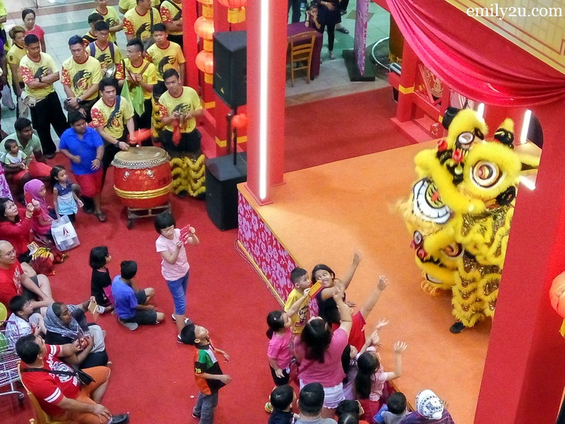 AEON Jusco Kinta City Chinese New Year activities