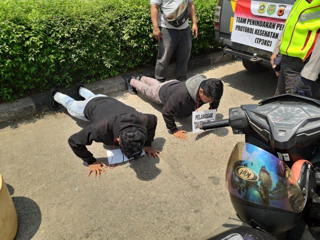 Masyarakat Tidak Gunakan Masker Siap-Siap Terjaring Ops Yustisi di Wilayah Cibinong