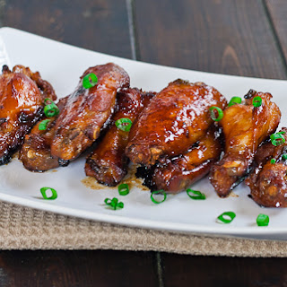Sticky Chinese Chicken Wings.