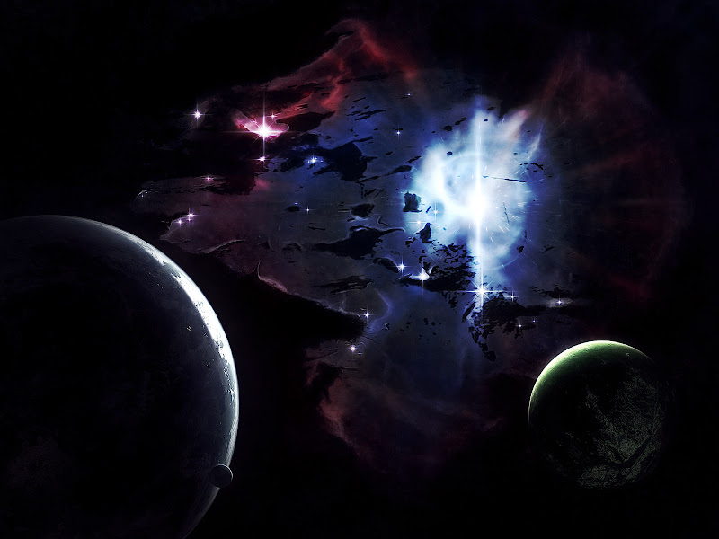 Mystical Place Of Fantasy, Space And Universe 1